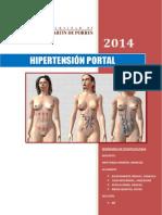 hipertensión portal usmp