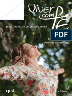 Viver Com Fe - Historias de Que - Cissa Guimaraes