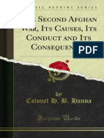 The Second Afghan War Its Causes Its Conduct and Its Consequences (1904)
