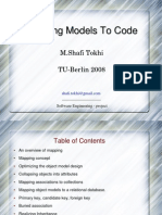 Mapping Models to Code