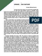Omraam Mikhael Aivanhov-Natură umană sau Natură animalică.pdf