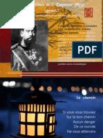 Poemes de l'Empereur Meiji