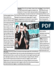 Kerrang Double Page Spread Analysis