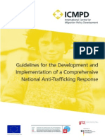 Guidelines for the Development and Implementation of a Comprehensive National Anti-Trafficking Response 500 Kb