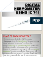 DIGITAL THERMOMETER USING IC 741.pptx