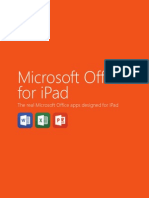 Office for iPad Product Guide