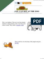 The Zoo Animals - Kids Story