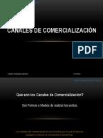 Canales de comercializacion