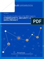 The attitudes of online users in the MENA region to cybersafety, security and data privacy