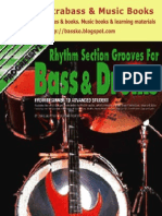 Rhythm Section Grooves for Bass & Drums