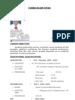 Chetan CV For