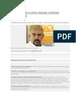 La Negociación o Cómo Resolver Conflictos Empresariales
