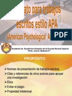 Citas Bibliograficas APA Presentación