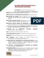 Las Diez Páginas Web Imprescindibles de La Investigación h…