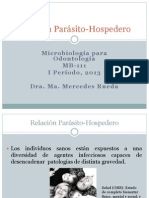 relacion parasito hospedero