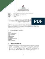 Manual Informe Lectura Escritura 2014