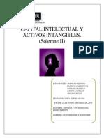 Capital Intelectual y Activos Intangibles.