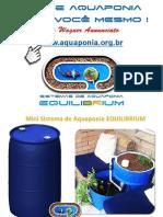 Mini Sistema de Aquaponia EQUILIBRIUM