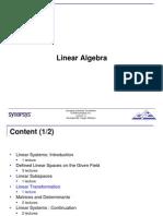 Linear Algebra Lecture4