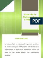 Usos de la Biotecnologia Forestal