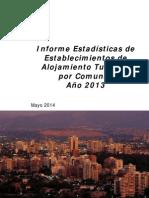 Informe de EAT Por Comunas 2013