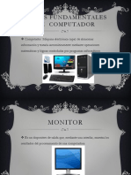 Partes Fundamentales de Computador