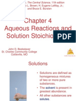 AP Chemistry Chapter 4 Powerpoint
