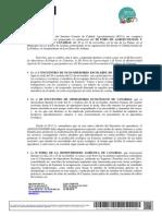 Carta Foro Agroecología Canarias