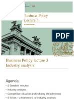 Business Policy Lecture 3