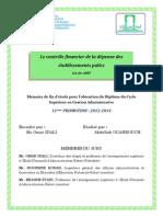 Contrôle des dépenses au Maroc