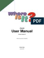 WhereIsIt Manual