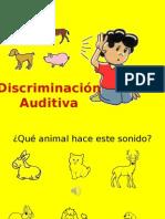 discriminacion auditiva