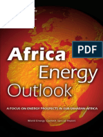 Africa Energy Outlook - 2014