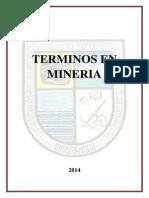 Terminos en Mineria