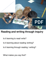 literacy learning compressed