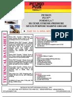 Petron Plustm Formula 7 Hi-temp, Etreme-pressure Multi-purpose Marine Grease