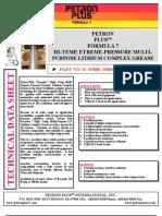 Petron Plustm Formula 7 Hi-temp, Etreme-pressure Multipurpose Lithium Complex Grease