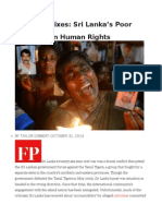 Cosmetic Fixes Sri Lanka's Poor Progress on Human Rights