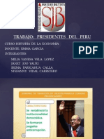 Presidente Del Peru