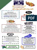 November 2014 PTO Newsletter