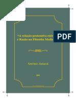 Antonio Amaral Fe Razao Filosofia Medieval (1)