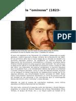 """La década """"ominosa"""" (1823-1833)"""