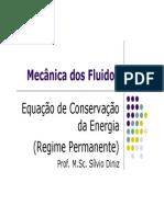 Equação Conservação de Energia