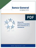 Manual del Gobierno Corporativo del Banco General