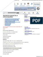 Arquitectura General de Un Microcomputador - Monografias
