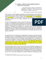 Sierra Wladimir_La Sociologia Fisica Social o Filosofia Social