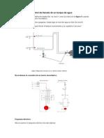 Control de Llenado de Un Tanque de Agua
