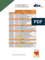 Primer Informe Semestral - CAE USACH 2014