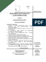 Matematyka egzamin maturalny