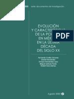 Evolucion y caracteristicas de la pobreza en México en la última década del siglo XX